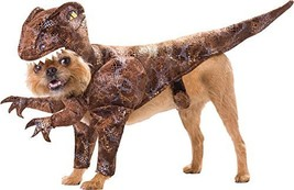 UHC Raptor Dinosaur Animal Planet Funny Theme Halloween Pet Dog Costume, S - $29.29
