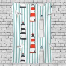 Mens Tapestry Beautiful Lighthouse Landscape Pattern Wall Decor Art 40x6... - $26.00