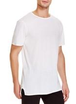 NEW MENS O13J TWENTY ODELL BECKHAM DAWSON ELONGATED WHITE T SHIRT TEE S $85 - $19.99