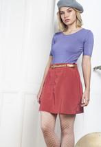 90s vintage poppy skirt - $34.68