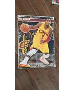 2013-14 Fathead NBA Trading Cards Promo Sample Card Kyrie Irving Burgund... - $34.98