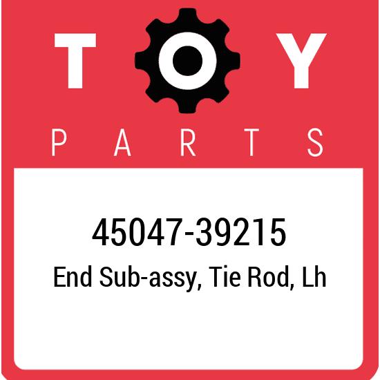45047-39215 Toyota Tie Rod End, New Genuine OEM Part