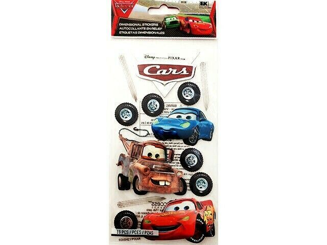 Disney Cars Dimensional Stickers #DCGIJ06