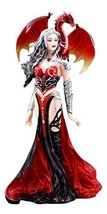 """Ebros Nene Thomas Red Fire Dragon Witch Statue 12"""" H Queen of Shadows Severeiell - $63.99"""