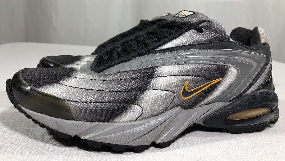 2000 NIKE AIR Max Men's 9.5 Running Shoes Athletic Trainer 90's VTG 95 90 Tuned