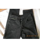 Calvin Klein Blue Jeans Ladies Black Rivet Sz 9... - $16.99