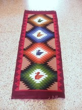 Peruvian hand weaved runner, rug size 4`92 x 1'97 ft - $156.40