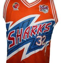 Jimmer Fredette #32 Shanghai Sharks Basketball Jersey New Sewn Orange Any Size image 4