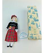 """Bonnie"" Scottish International Porcelain Doll W/ Box NOS - $19.79"