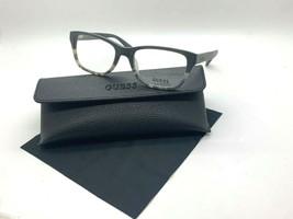 New Guess Frame GU1844 Blkto Black Tortoise 53-18-140MM /CASE Cloth - $31.98