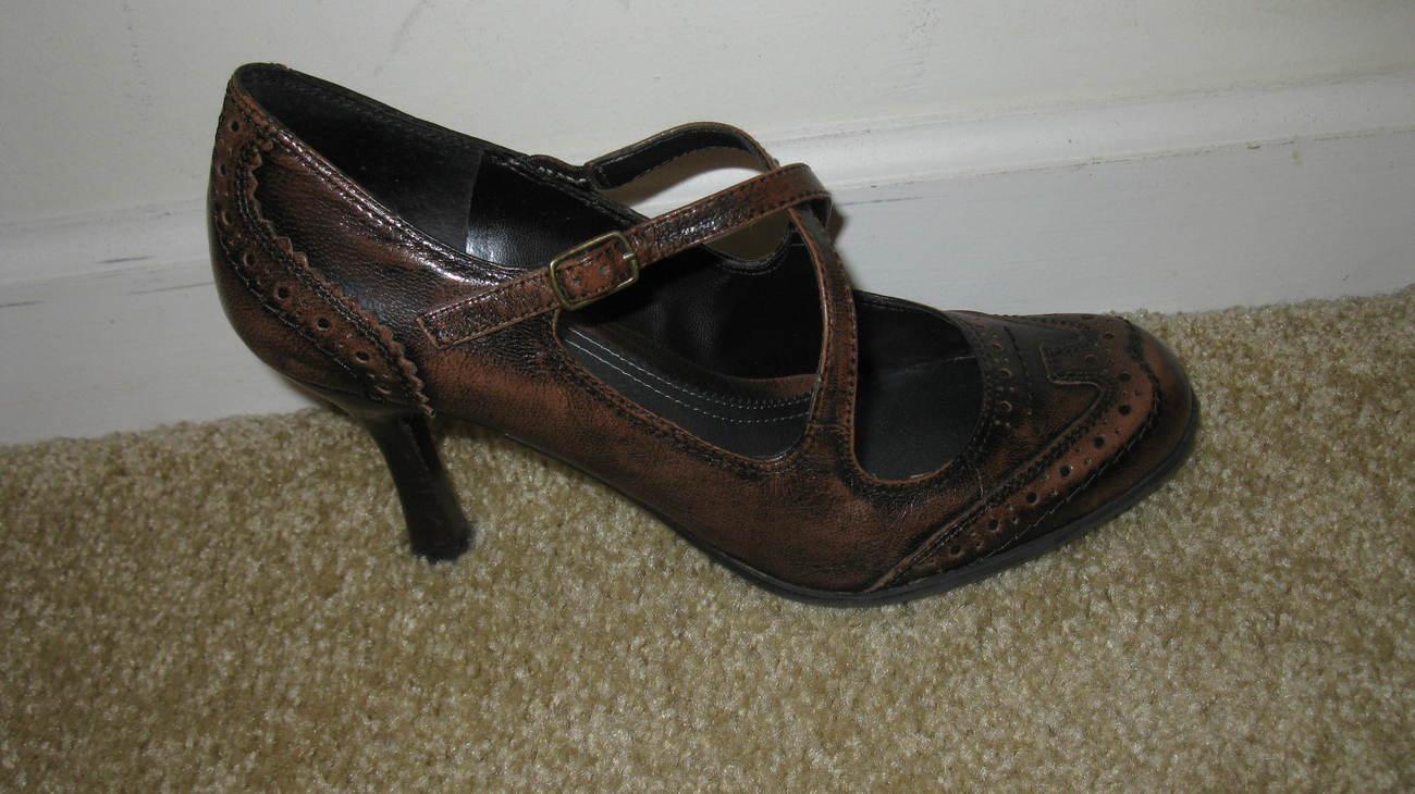 Nine West Brown Women's Shoes 8 Medium