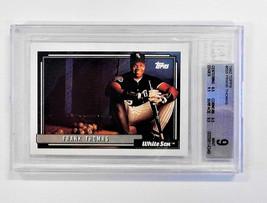 Frank Thomas White Sox Baseball Card 555 BSG 9 Mint Topps 1992 - $28.91