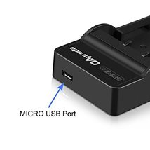 OAproda 2 pack LPE6 Battery and Micro USB Charger for Canon LPE6LPE6N EL... - $31.64