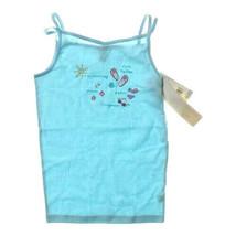 Carter's Girls 12 tank top style night shirt Beach Flip Flops Bikini Blu... - $9.00
