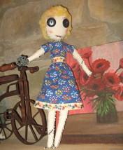 "17"" OOAK - Primative rag doll - COMING APART AT THE SEAMS - #4 , named P... - $40.00"
