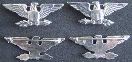 WWII Colonel War Eagles Sterling Luxenberg  1 1/2 inch            - $65.00