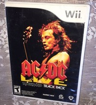 2008 Nintendo Wii AC/DC Live Rock Band Track Pack =FAST FREE SHIPPING= - $7.91