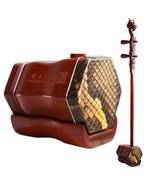 Concerto Grade African Sandalwood Erhu with Engraved Dragon Erhu - $459.00