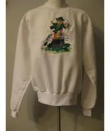 Irish Leprechan Childs Sweatshirt  By Jerzees Size 10-12 - $6.00