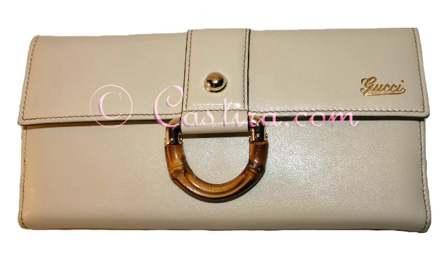 Gucci Amalfi Cream Leather Continental Wallet - tPF member Gucci
