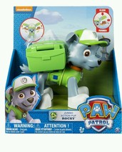 Paw Patrol Big Action Pup Toy Rocky Christmas Gift Green Nick Jr Puppy D... - $42.03