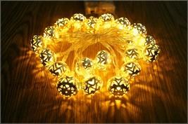 3.3M 20 led ottoman Battery lights String Light Islamic Ramadan Eid Moroccan - $16.00