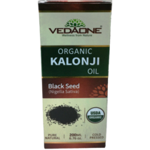 Vedaone 200ml / 6.76oz Organic Kalonji Oil Black Seed Blackseed - $20.00