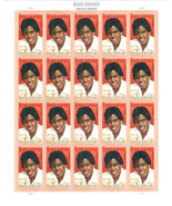 2011 44c Barbara Jordan, Black Heritage, Sheet of 20 Scott 4565 Mint F/V... - $21.94