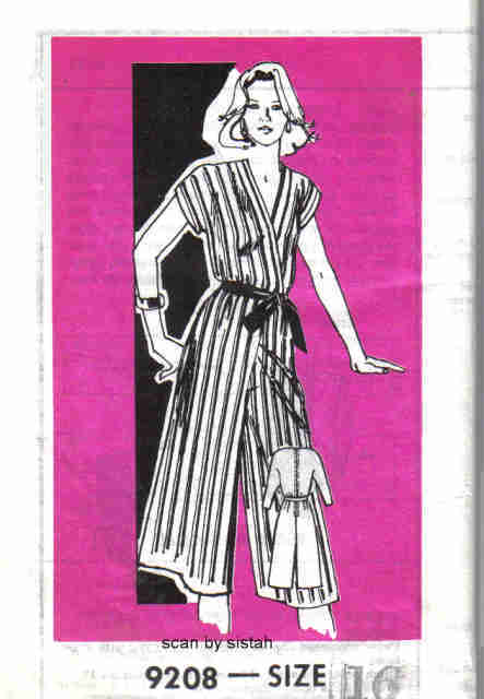 Reader Mail New York 9208 Pattern 16 Culotte Dress retro casual vintage VP1 Other