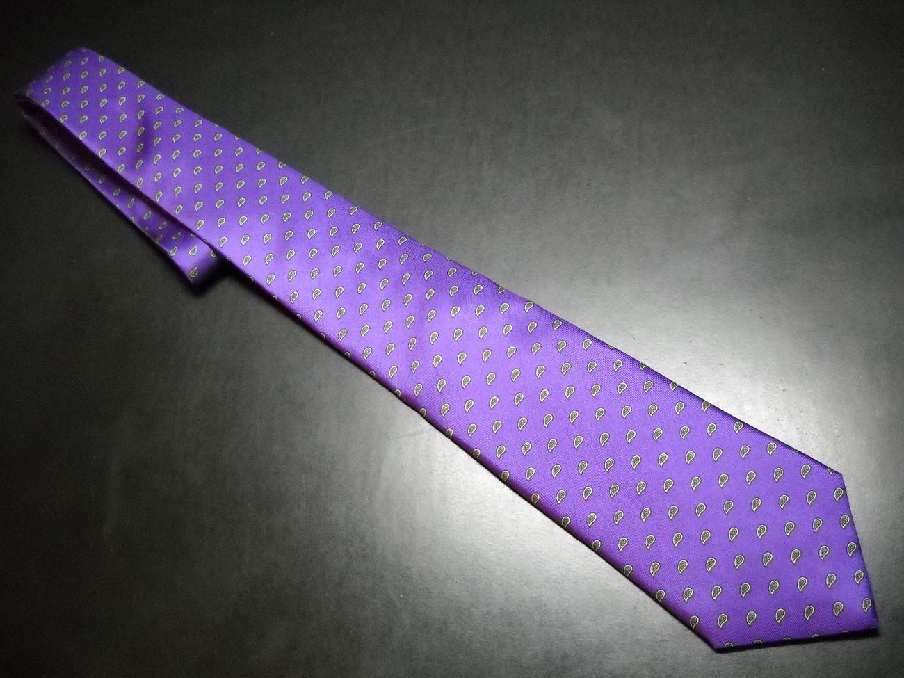 Tie chaps by ralph lauren purple   paisley 01