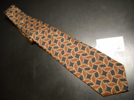 Bert Pulitzer Neck Tie Browns and Blues Never Used and Unworn with Tags - $12.99