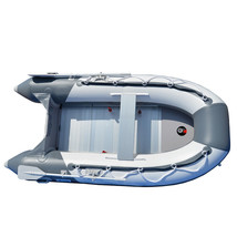 BRIS 8.2 ft Inflatable Boat Inflatable Pontoon Dinghy Raft Tender Canopy image 2