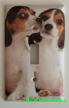 Beagle dog Light Switch Power Outlet Duplex Wall Cover plate Home decor image 1