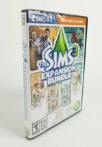 The Sims 3 Expansion Bundle (PC / MAC, 2013) EA Maxis Video Game Sealed ... - $13.82