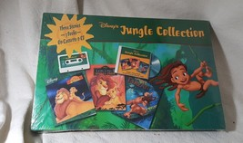 Sealed Vintage Disney's Jungle Collection TARZAN Books Cassette & CD Lot... - $19.79