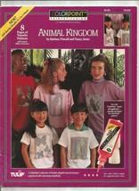 Tulip Colorpoint Paintstiching Iron-On Transfers Kid's Stuff, Animal Kin... - $1.77