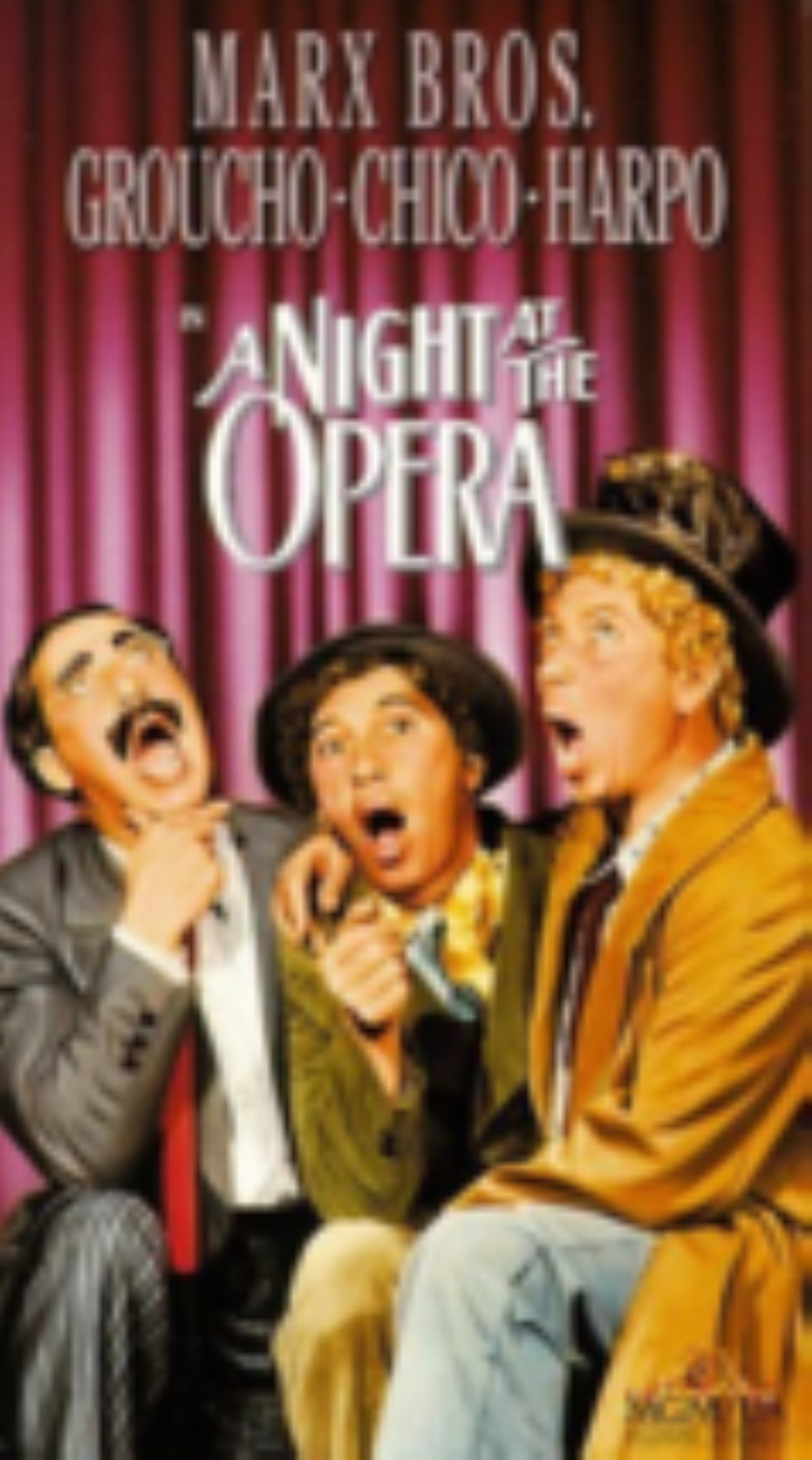 A Night at the Opera Vhs