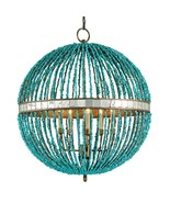 CURREY & CO COMPANY Alberto Orb Chandelier, Iro... - $2,620.00
