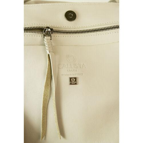 "Callista Crafts Ultra Light gray ""Ice"" color Tote Shoulder Bag Handbag Hobo image 6"