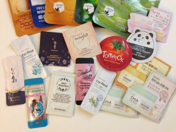 Korean Skincare Samples Best of Korean K-Beauty Skincare Bag Surprise Pack - $19.00 - $54.00