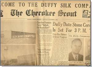 THE CHEROKEE SCOUT NEWSPAPER,1951,Murphy,NC,     Lone Ranger