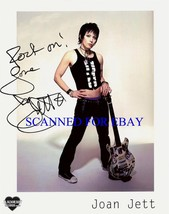 JOAN JETT SIGNED AUTOGRAPH 8X10 RP PHOTO BLACKHEARTS & RUNAWAYS ROCK - $16.49