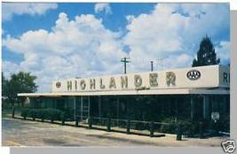 LAKE WALES, FLORIDA/FL POSTCARD, Highlander Restaurant - $5.00