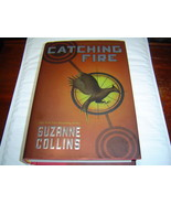 CATCHING FIRE by Suzanne Collins (2009) 18TH PRINTING HARDCOVER W/ DUST ... - $9.74