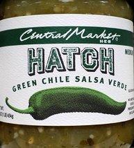 Central Market HEB Salsa 16 Oz (Pack of 2) (Hatch Green Chili Salsa Verde - Medi - $28.34