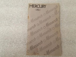 MONARCH   1975 Owners Manual 15852 - $16.78