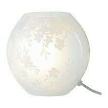 IKEA KNUBBIG Table lamp with LED bulb, cherry-blossoms white, 7  - $36.58