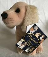 "Kids Preferred 2001 Golden Retriever Plush Puppy Dog Preferred Pets NWT 6"" - $14.40"