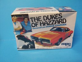 MPC The Dukes of Hazzard General Lee 1969 Dodge Charger model kit 1/25 S... - $12.00