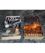 Kathleen O'Neal & W Michael Gear lot of 2 First North American Series Pa... - $3.99